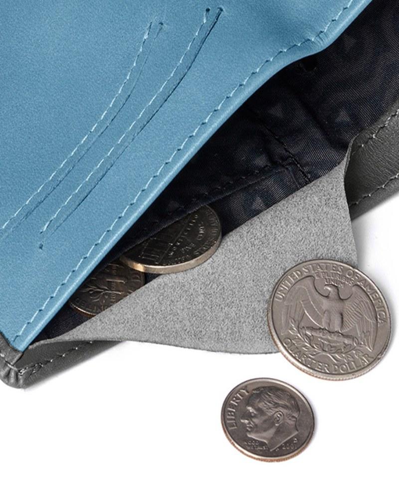 BRY3051-Note Sleeve Wallet 直式真皮皮夾 (RFID)