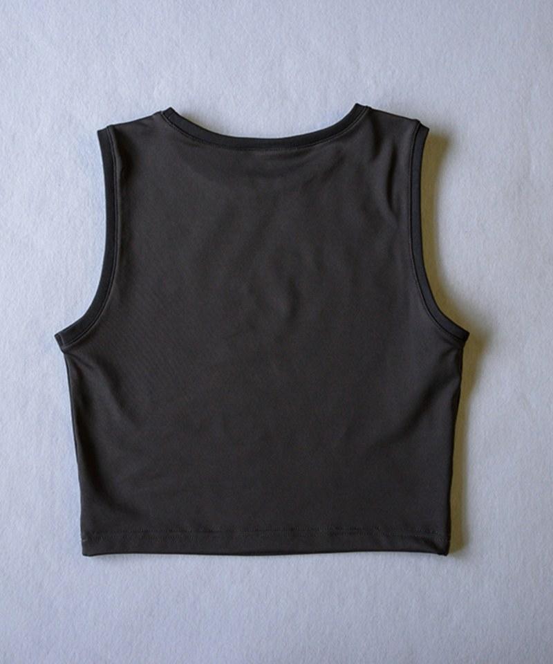 COP0174 快乾抗UV女款合身短背心