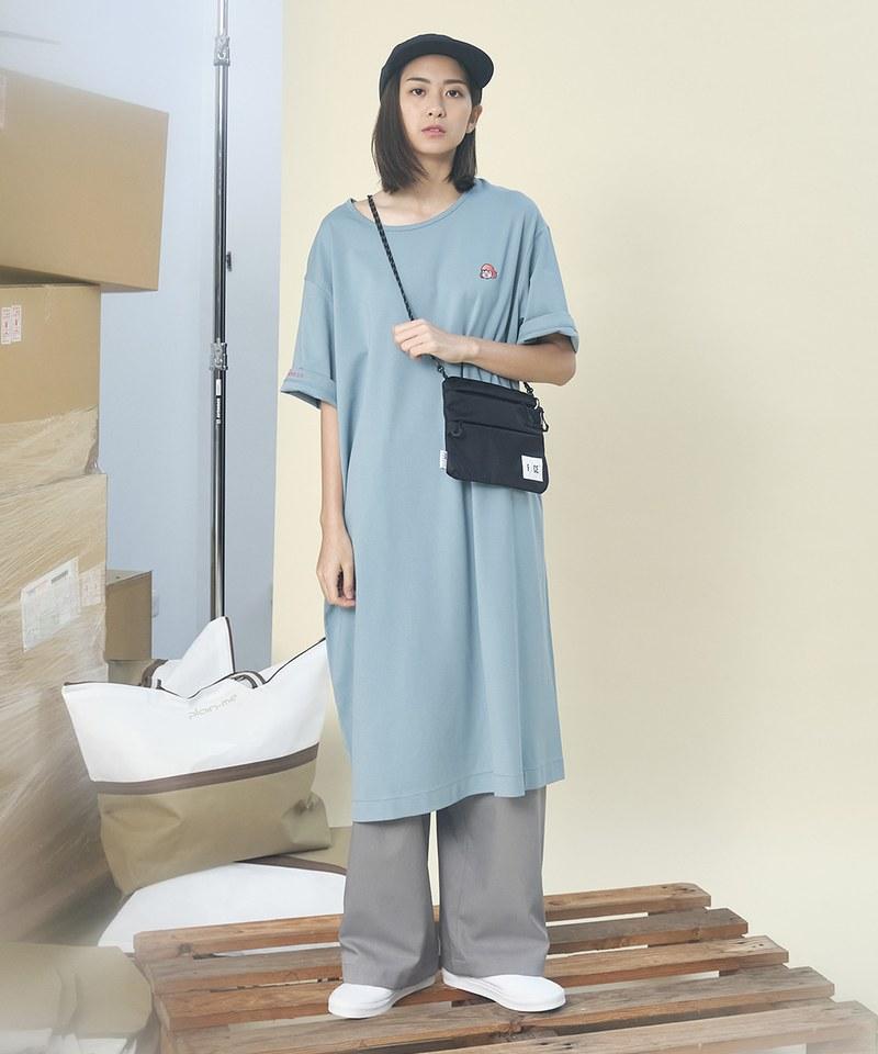 CRV0112A 美美 x plain-me 假面美美洋裝TEE