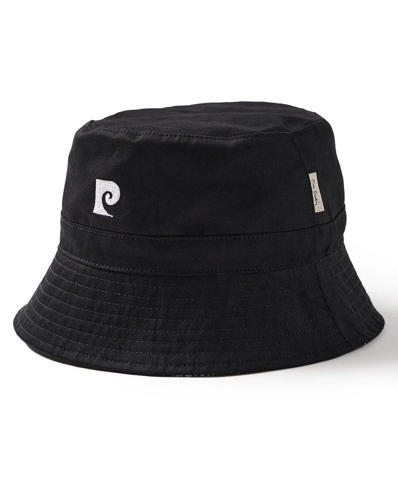 CRV2318 pierre cardin x plain-me 經典LOGO滿版雙面漁夫帽