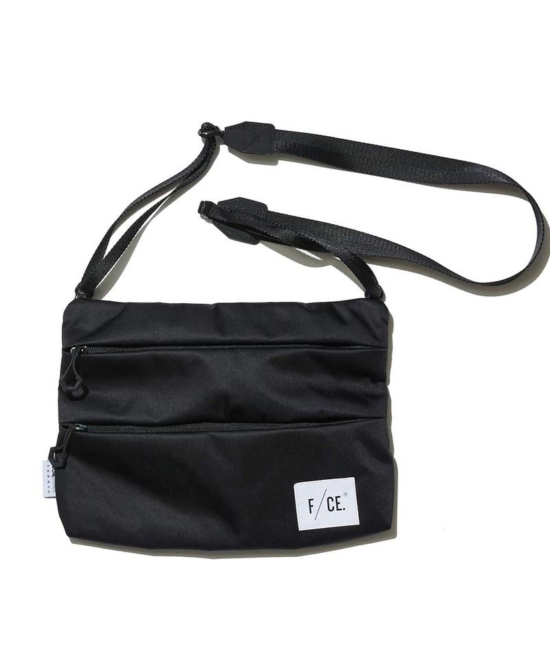 FCE3083 SATIN SACOCHE L 緞面側背小包