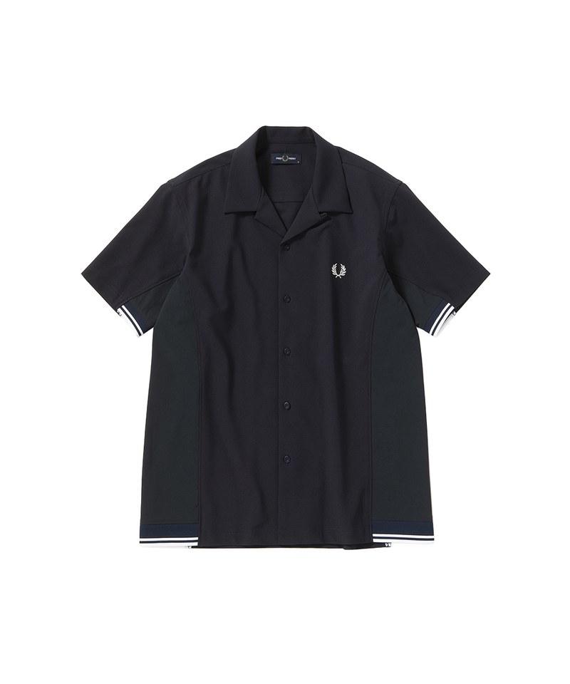 FRP0215 F4577 MIX PANELLED SHIRT 拼接設計襯衫