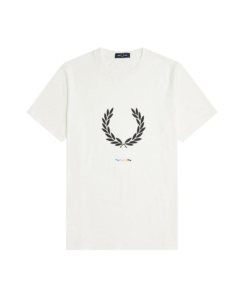 FRP99132 M1684 PRINT REGISTRATION T-SHIRT 月桂冠LOGO圖樣棉質上衣