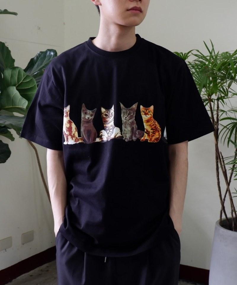 21947 PRINT TEE (CAT) 純棉圖案短T