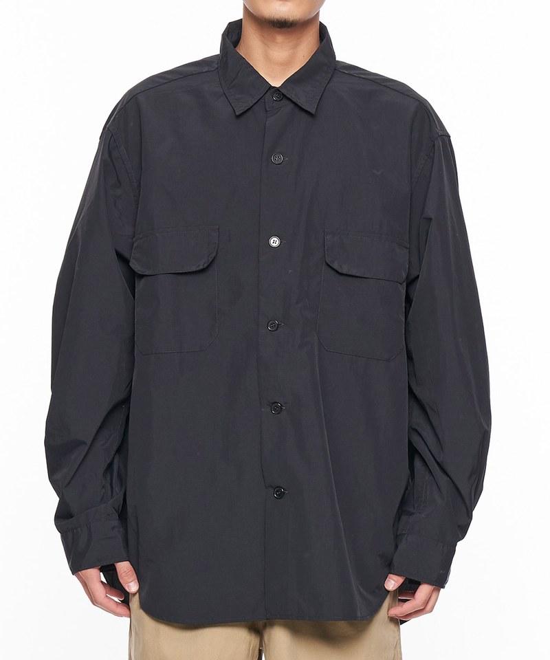 JSD0210 NYLON OX WIDE SH 尼龍寬版襯衫