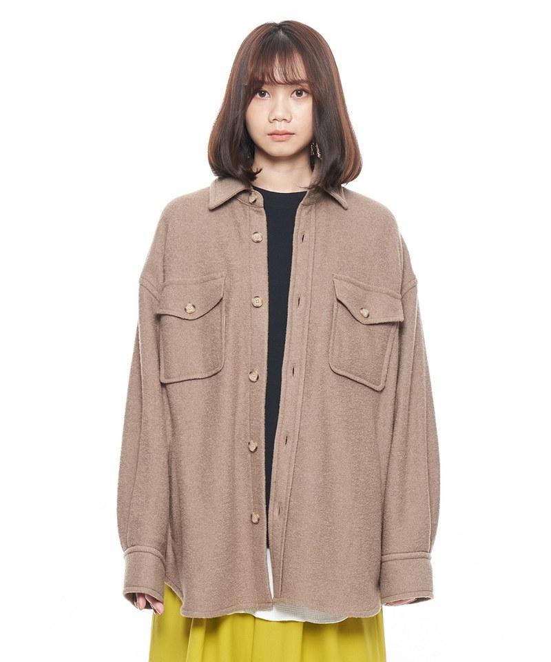 JSD1115 毛料 CPO 襯衫式外套