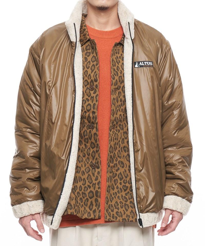 ALTUS*JS reversible boa nylon 雙面穿刷毛外套