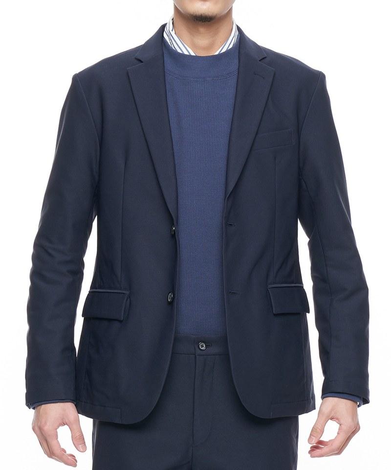 KANTIAN TWILL JK 彈性修身西裝外套