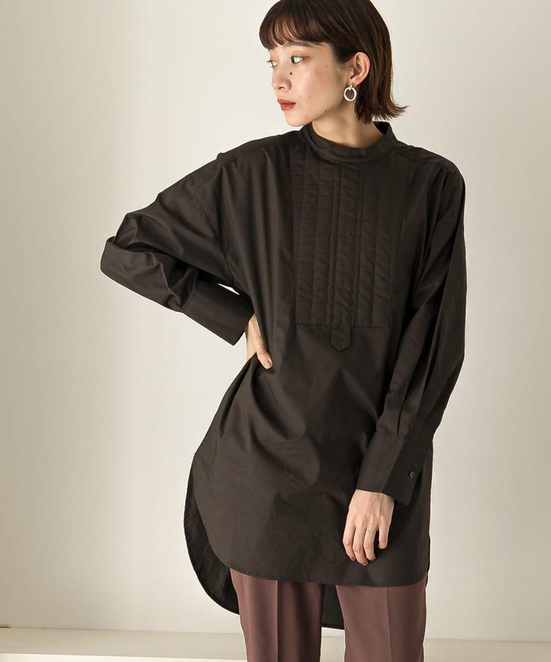 絎縫設計禮服襯衫