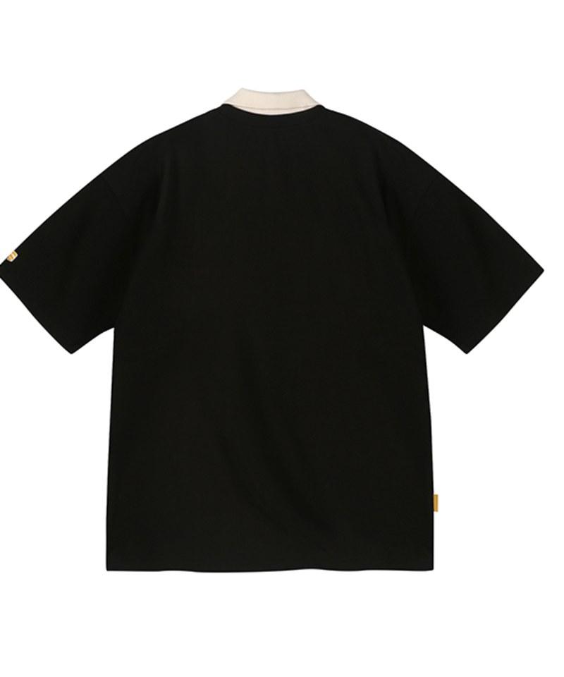 MBT0014 Disc Jockey Sweatshirt 寬鬆翻領短袖衛衣