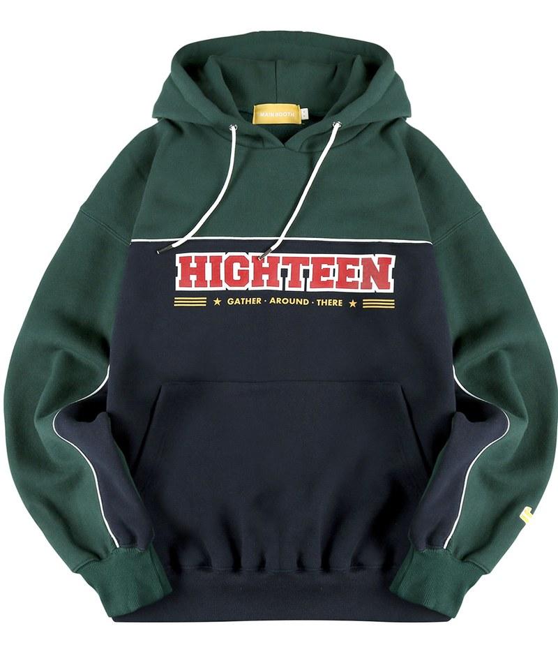 MBT0707 Highteen Piping Hood T-shirt 復古帽TEE