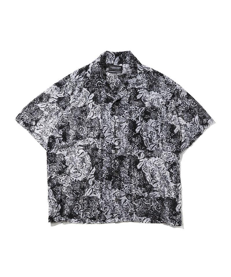 FLEXIBLE BOXY SHIRT 彈性開襟襯衫