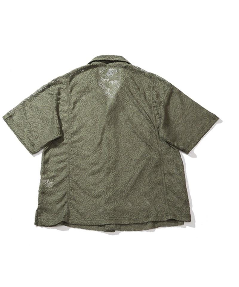 PLT9942 BOXY LACE SHIRT 蕾絲開襟襯衫