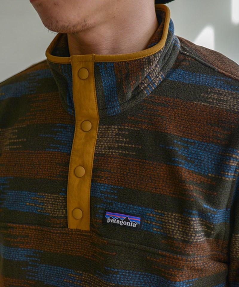 PTG0020 M's Micro D Snap-T P/O 刷毛套頭上衣