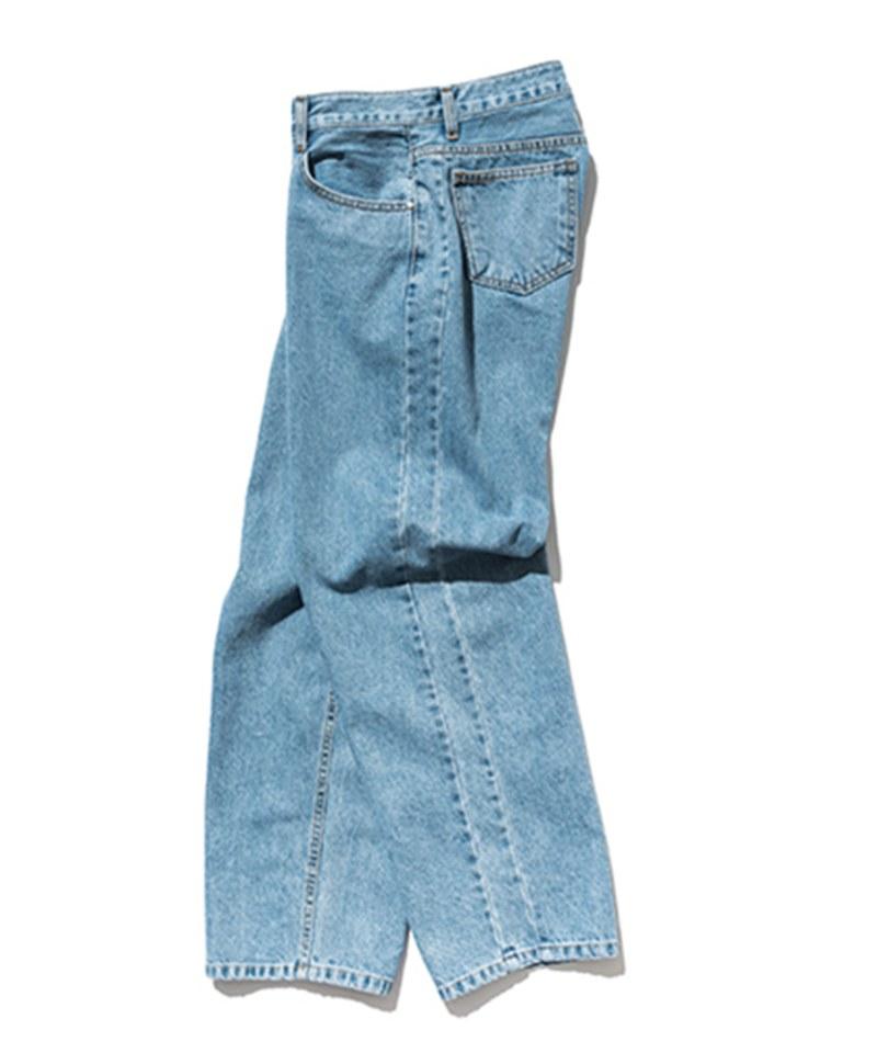 SLB1402 WIDE STRAIGHT DENIM 寬鬆直筒丹寧褲