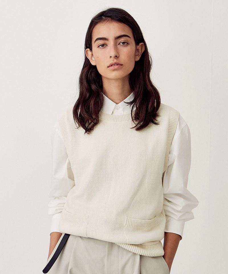 UNBW0501 Knit Vest 女款針織背心