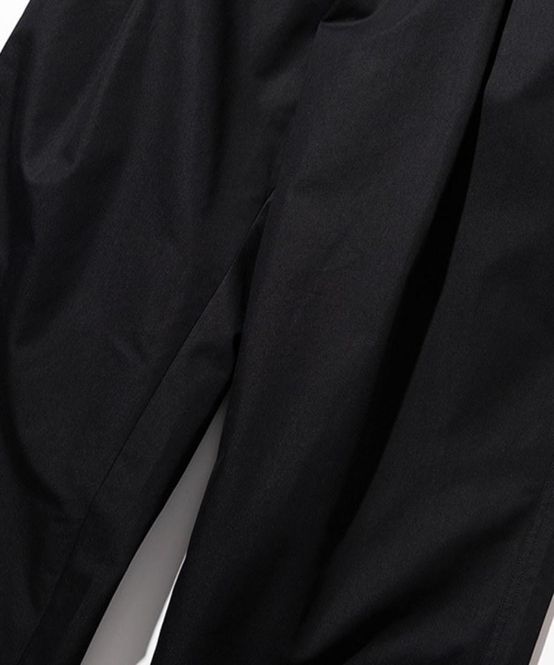 UNBW1602 20FW Wide Crop Chino Pants 寬鬆打褶長褲