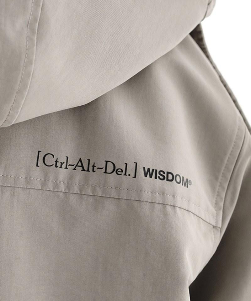 WDM1159 WISDOM x plain-me Ctrl Alt Del Detachable Trenchcoat 長大衣