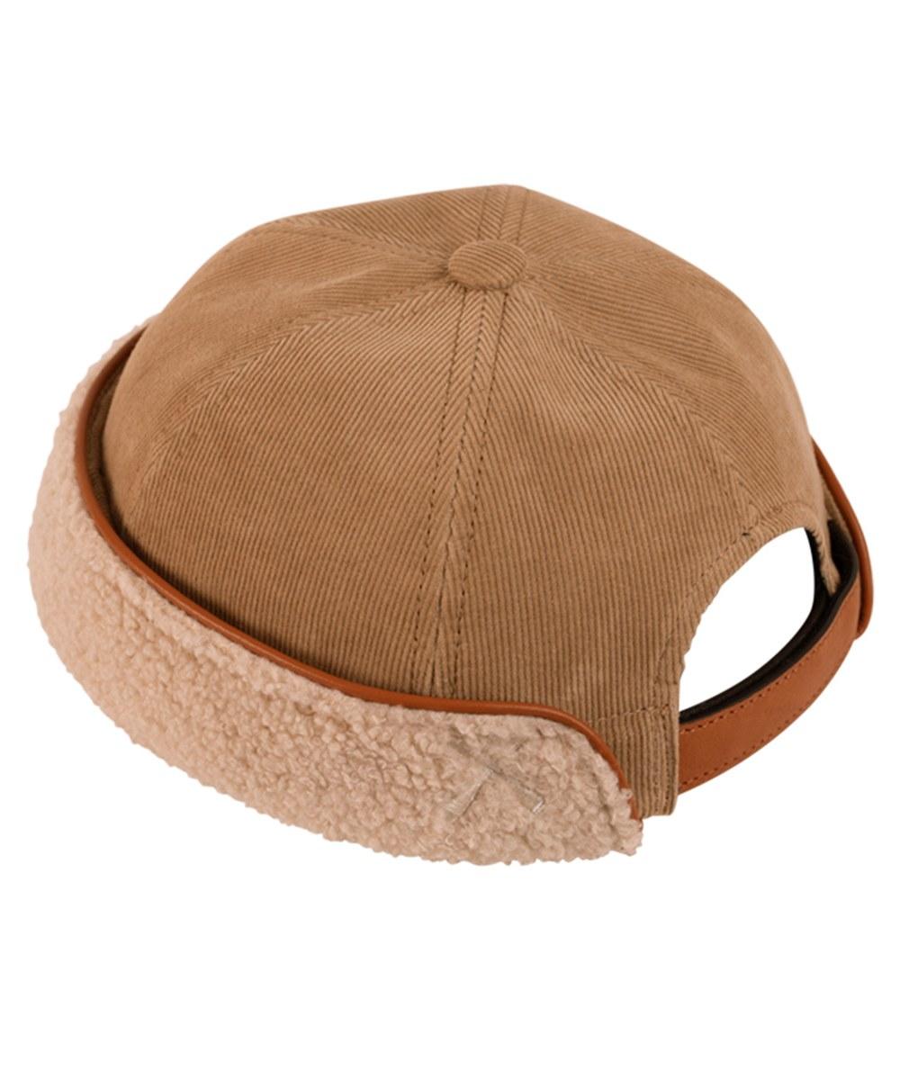 BTC2326 Miki Corduroy&Fleece 刷毛水兵帽