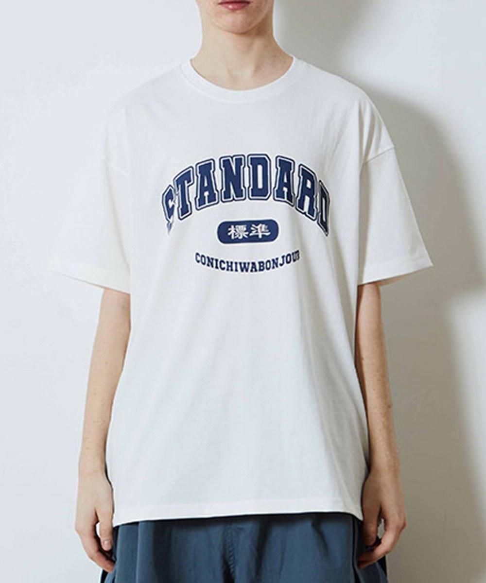 CNB0115 STANDARD T 純棉字樣短T