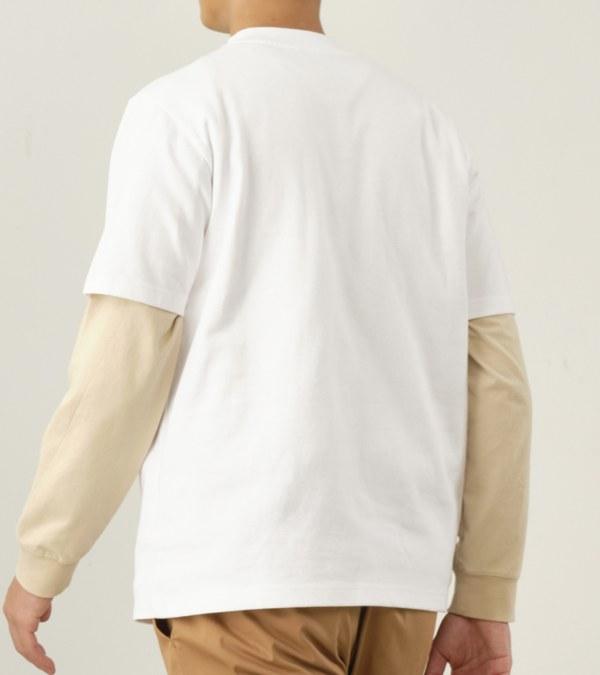 COP0043 【好著】中高領短袖重磅TEE