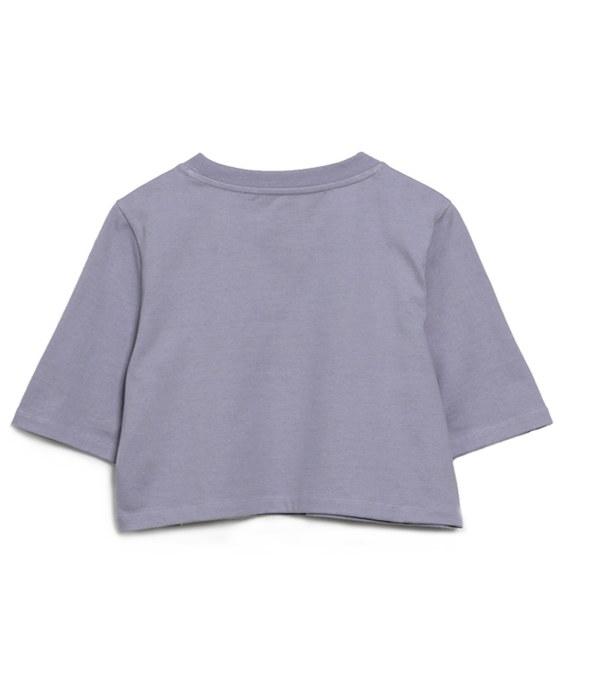 COP0047 女款重磅五分袖短版TEE