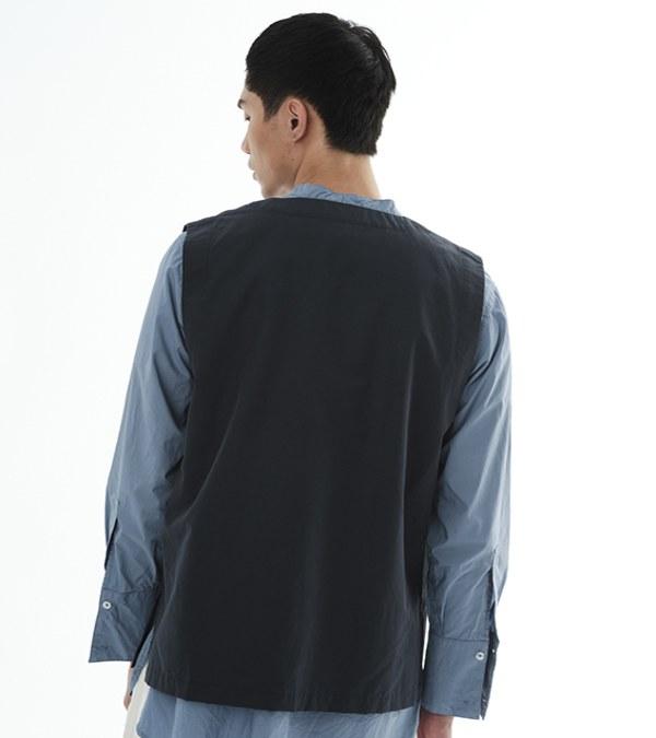 COP0163 高密棉混口袋套頭背心