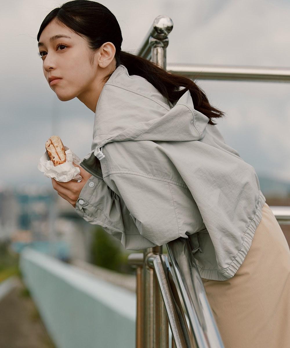COP11107 女款防潑水抗UV連帽防曬外套