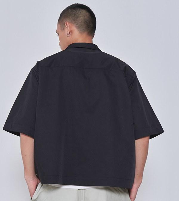 COP33161A 光澤感短袖襯衫