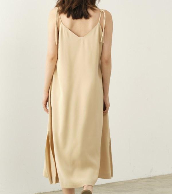 COP5006 【好著】女款垂墜感細肩帶洋裝