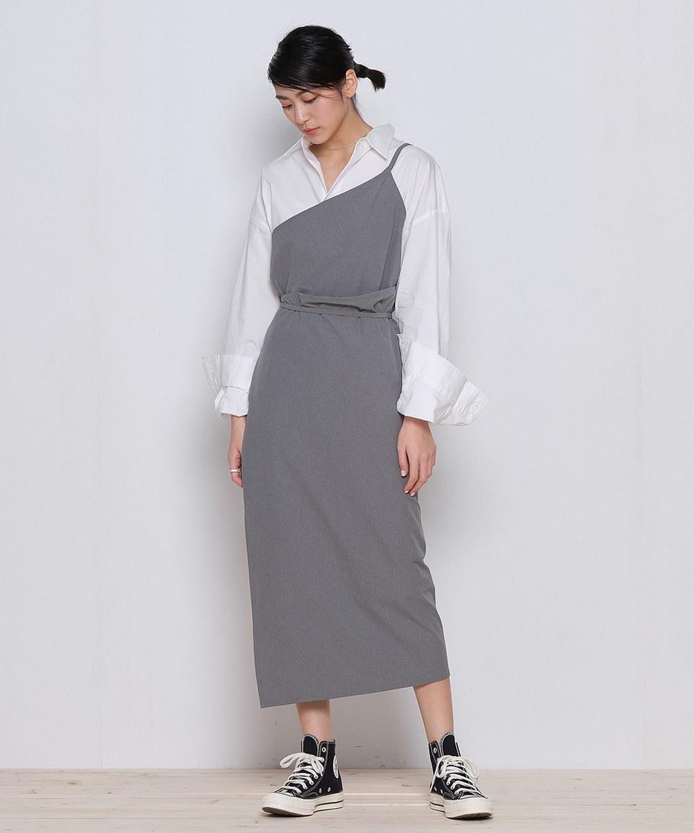 COP5008 女款吸濕快乾一片式綁帶裙