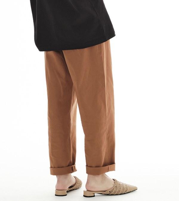 CRV3506 陳艾琳聯名彈性棉質口袋長褲