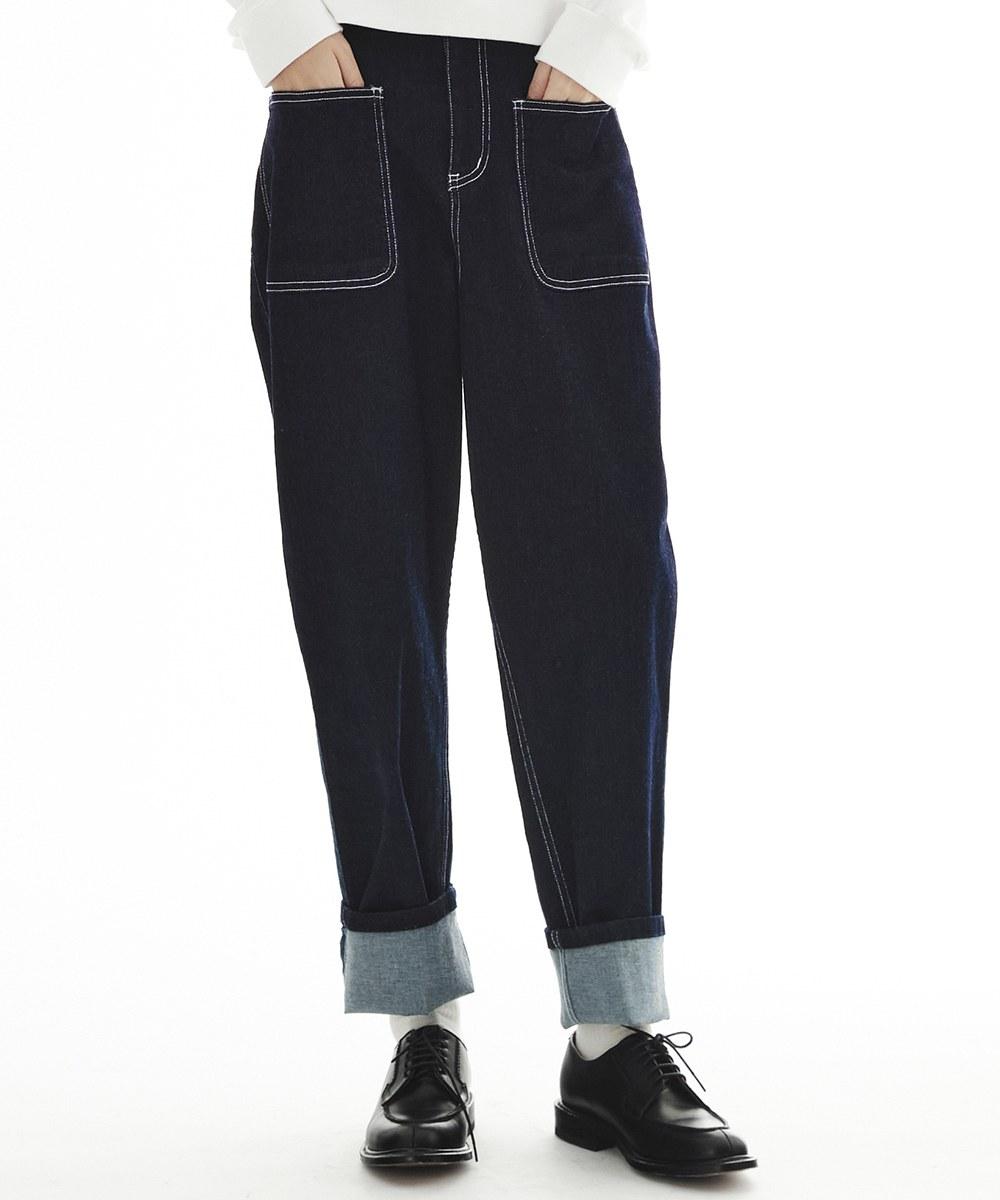 CRV3507 陳艾琳聯名特級彈性口袋牛仔褲