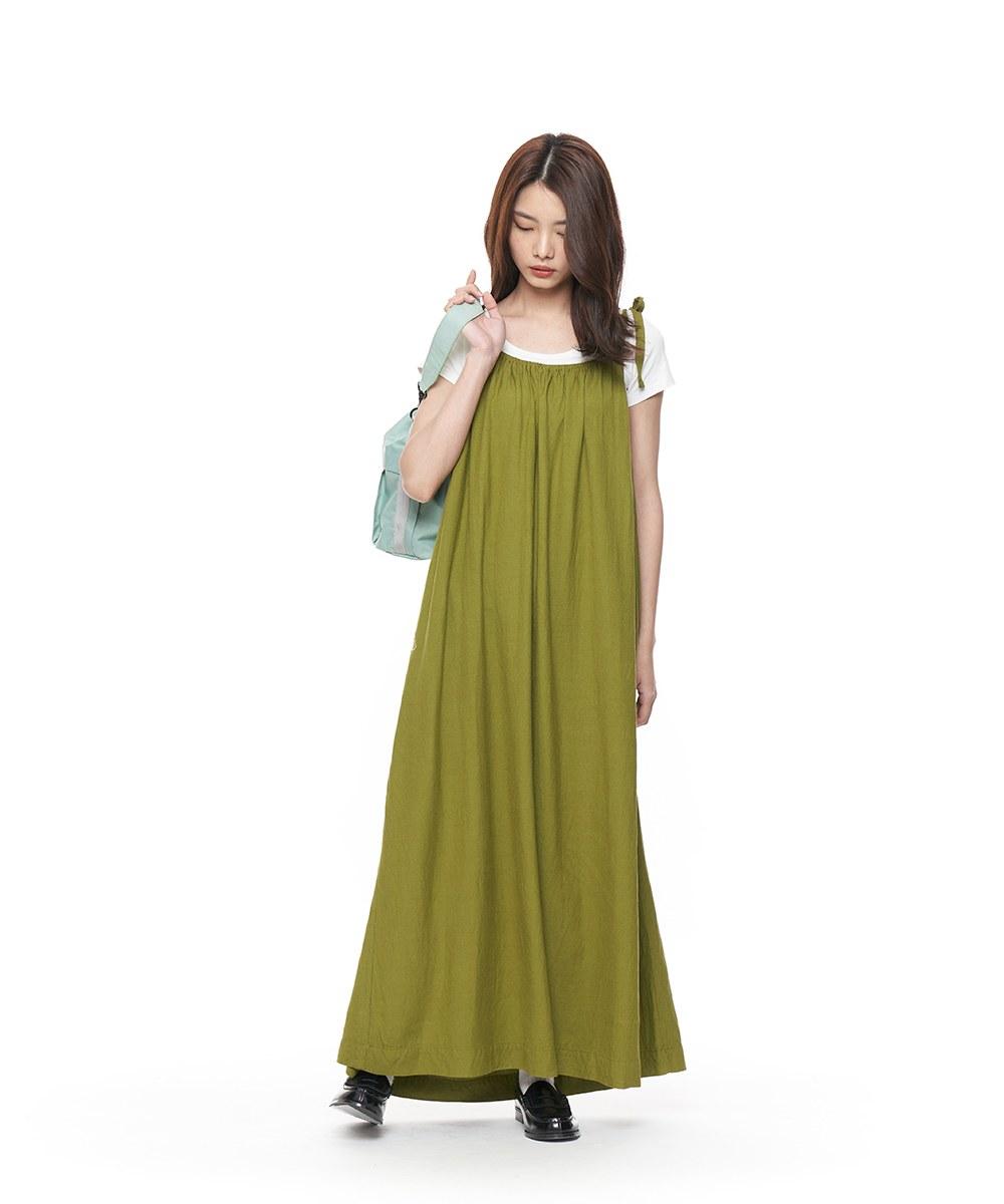 CRV5001 雙面美美棉麻洋裝