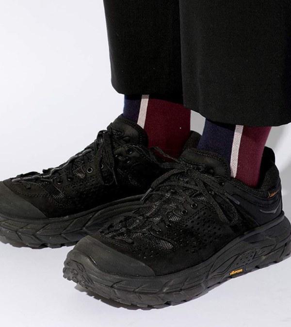 CST3903 CENTER LINE SOCKS 日本製配色長襪