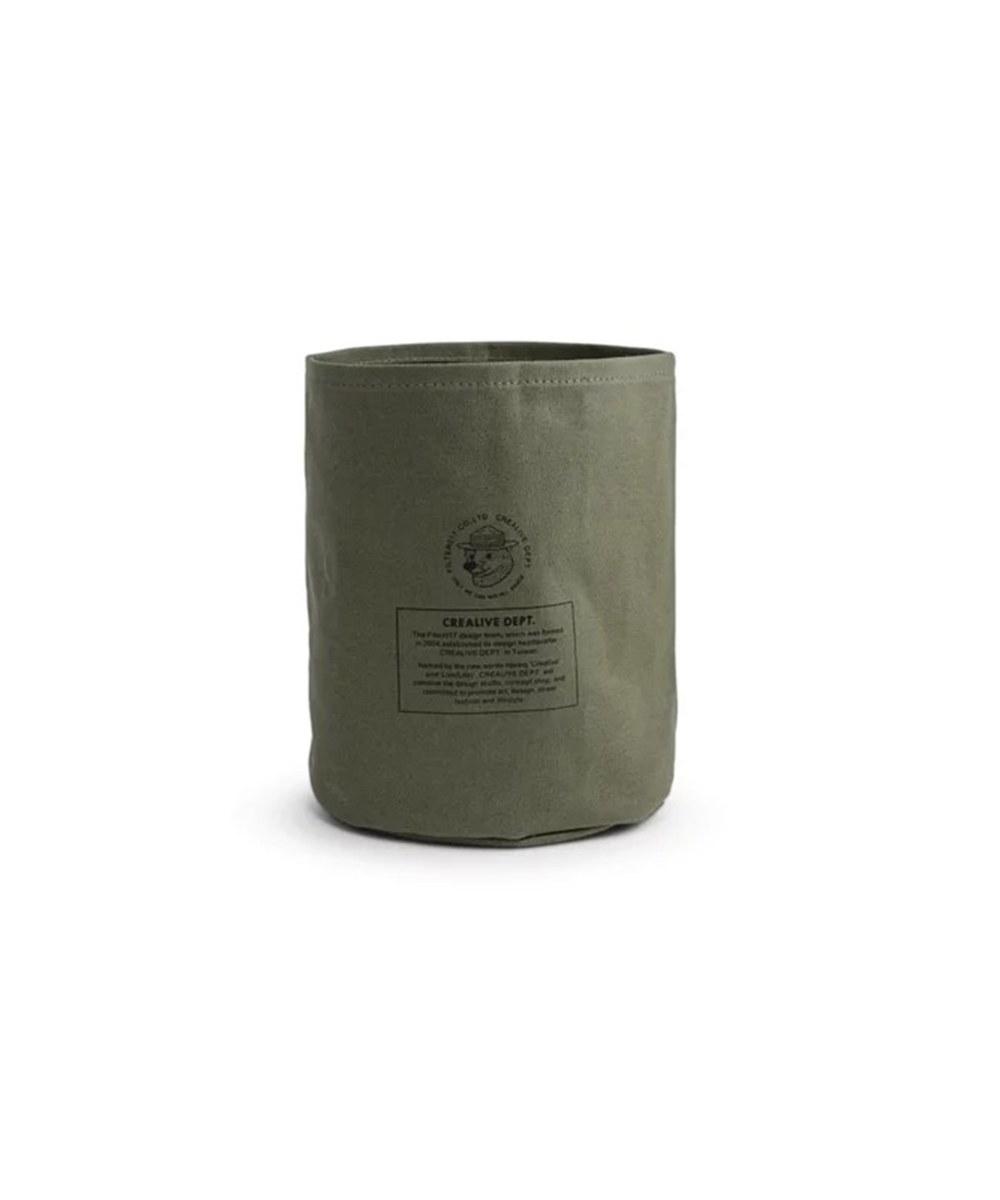 FLT3912 Mix Badger Waxed Canvas Storage Bin 米斯獾上蠟帆布置物袋 (小)