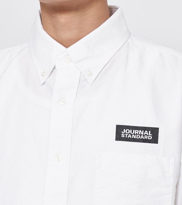 JSD0203 JS LOGO 扣領牛津襯衫