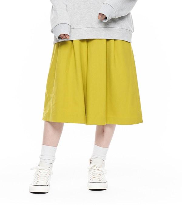 JSD4013 羊毛及膝褲裙