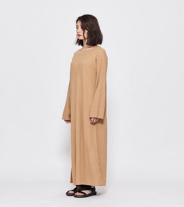 JSD4102 華夫格長洋裝