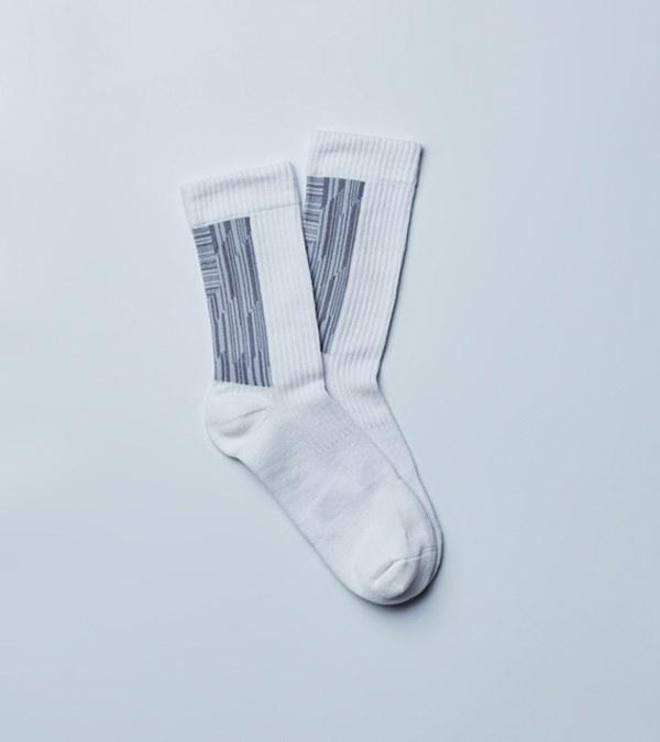 NZQ2913 LANDING 中高筒休閒襪