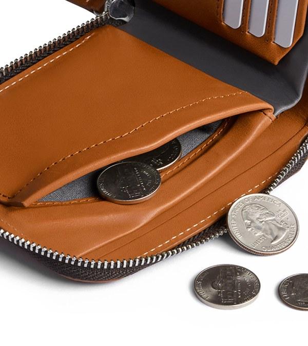 BRY3057-Zip Wallet 真皮拉鍊錢包