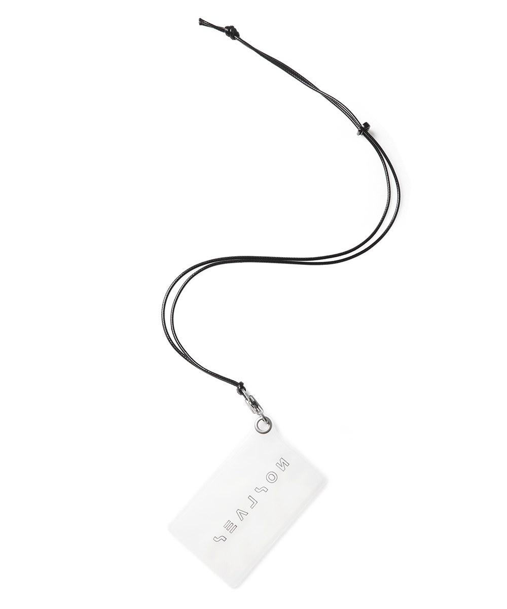 SSN9919 Card holder 透明掛頸卡片套