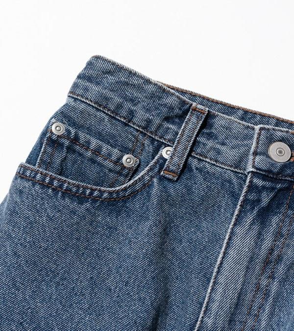 UNBW1603 boyfriend denim pants 男友丹寧褲