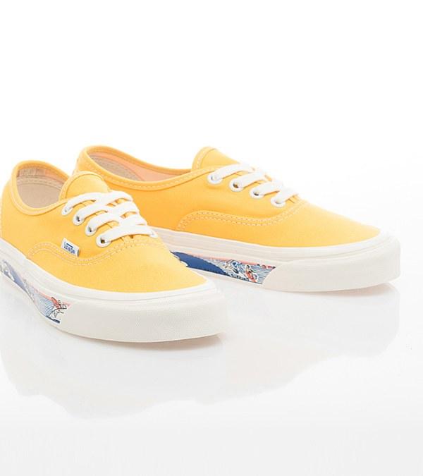 VANS1996 Authentic 44 DX Anaheim Factory SIDEWALL PRINT REISSUE 滑板鞋