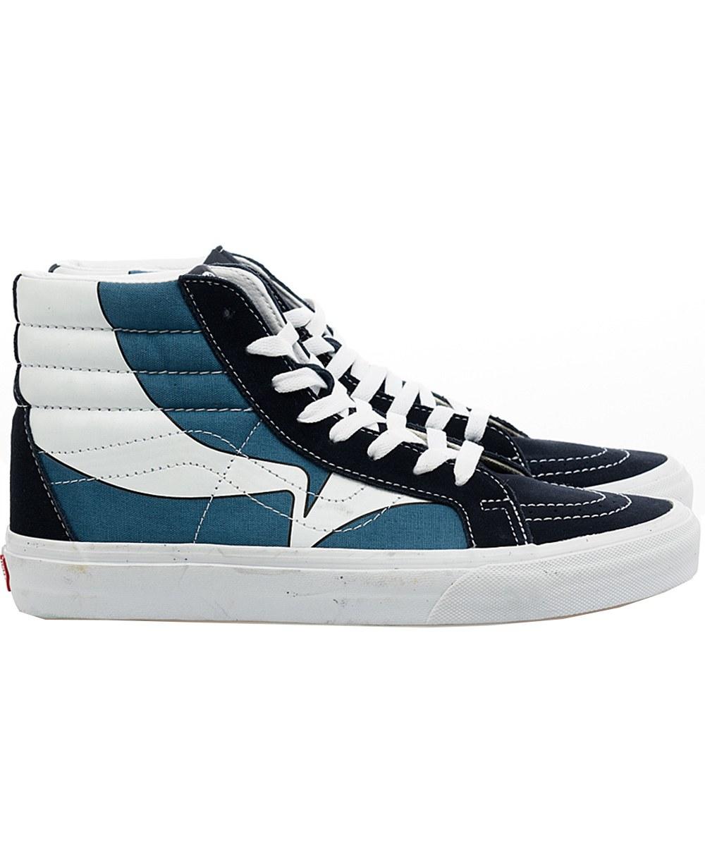 VANS9915 SK8-HI REISSUE WARP 高筒滑板鞋