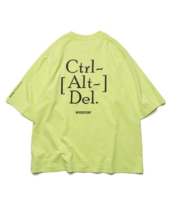 WDM0109 WISDOM x plain-me Ctrl Alt Del Logo S/S Tee 短TEE